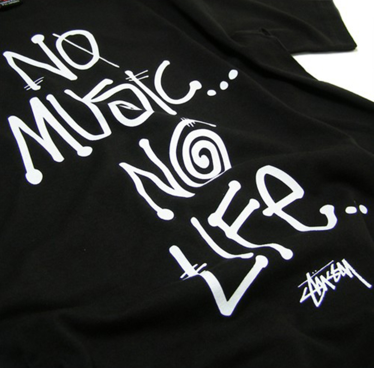 "Stussy x TOWER RECORDS Japan - 30th Anniversary ""No Music No Life"" T-Shirt (ZOZO Edition)"