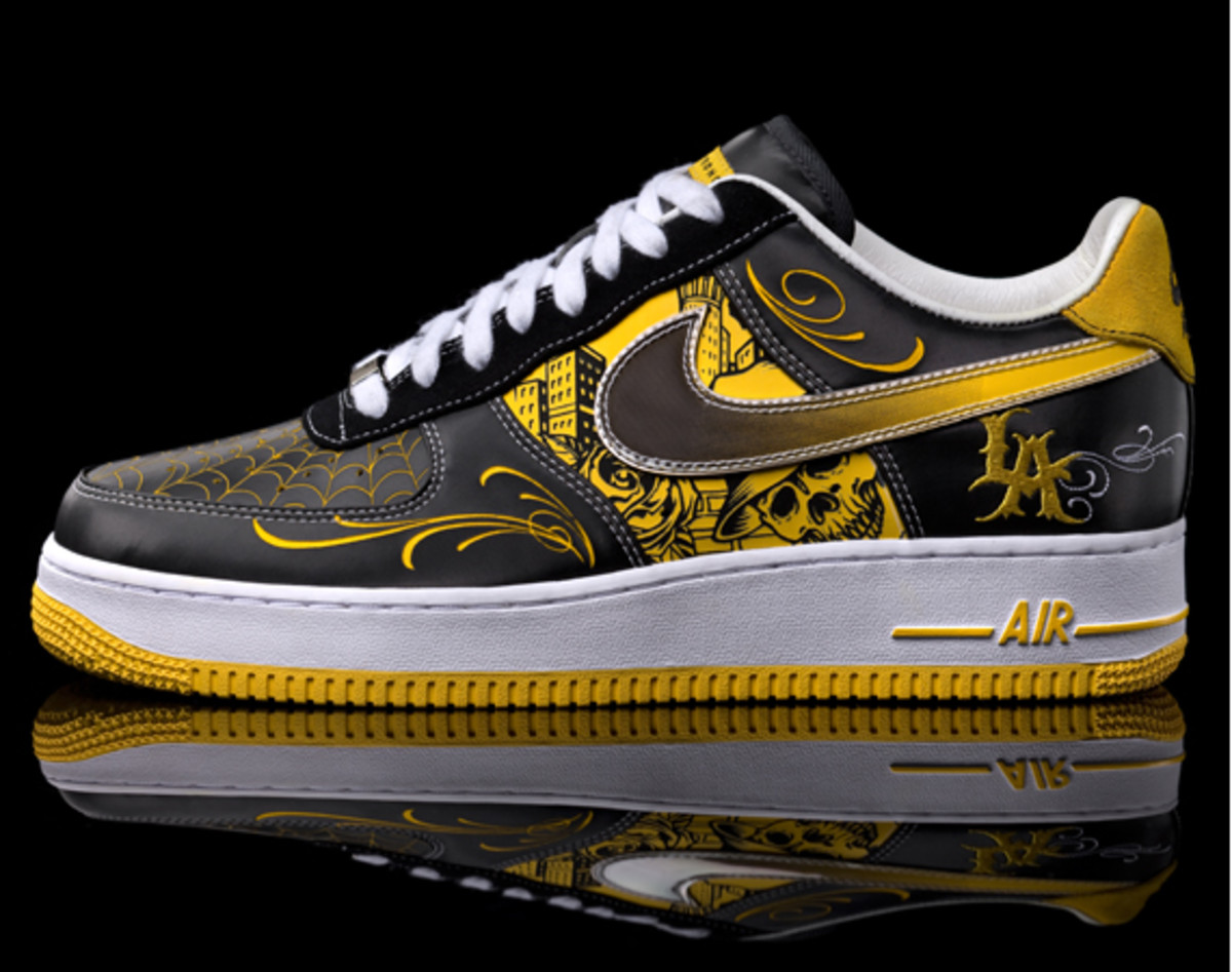 b6f1dbde42f6f Nike x LIVESTRONG x Mister Cartoon - Air Force 1 - Release Event ...