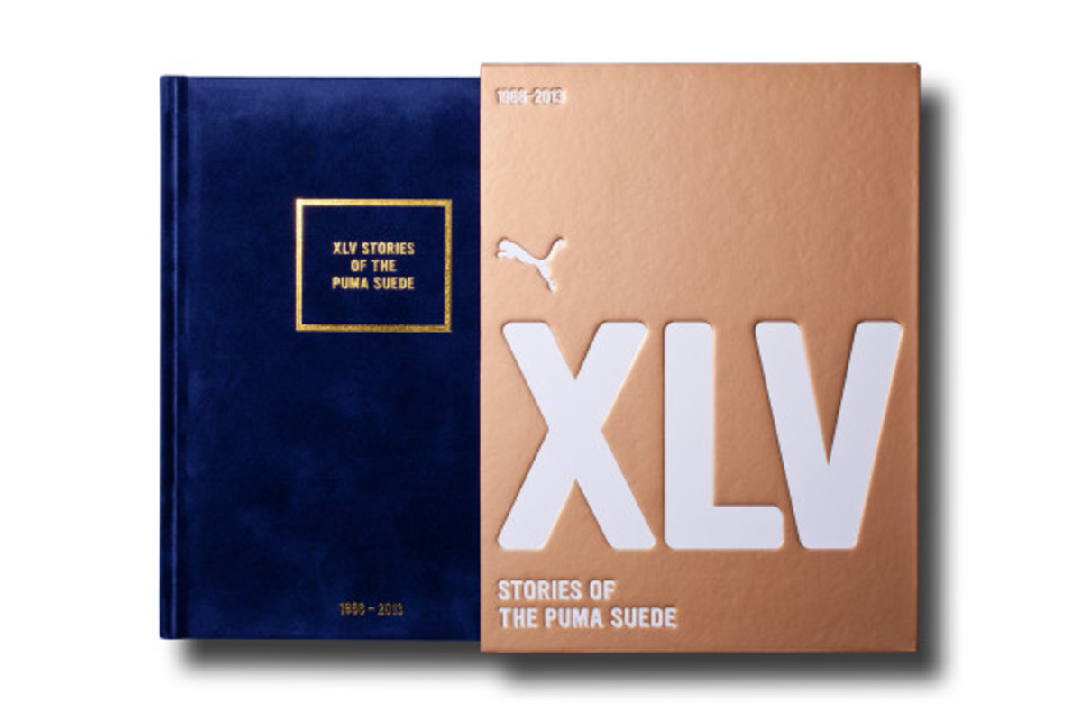 """XLV Stories of The Puma Suede"" Book - 1"