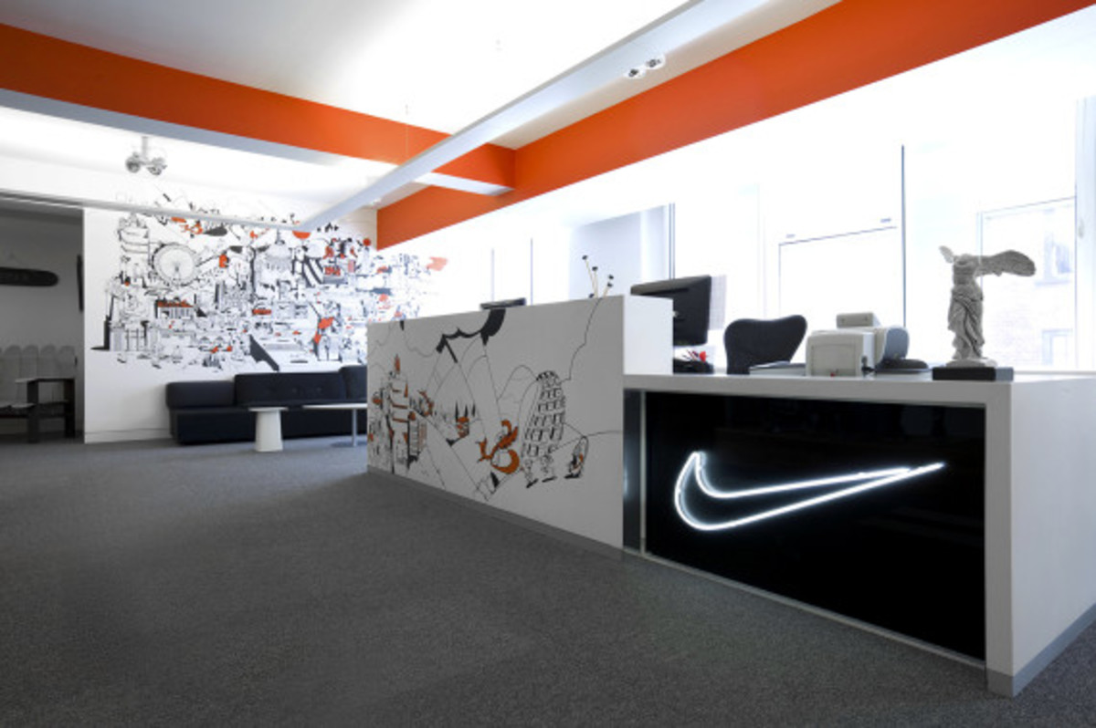 Nike UK Headquarters - Newly Redesigned By Rosie Lee - 1