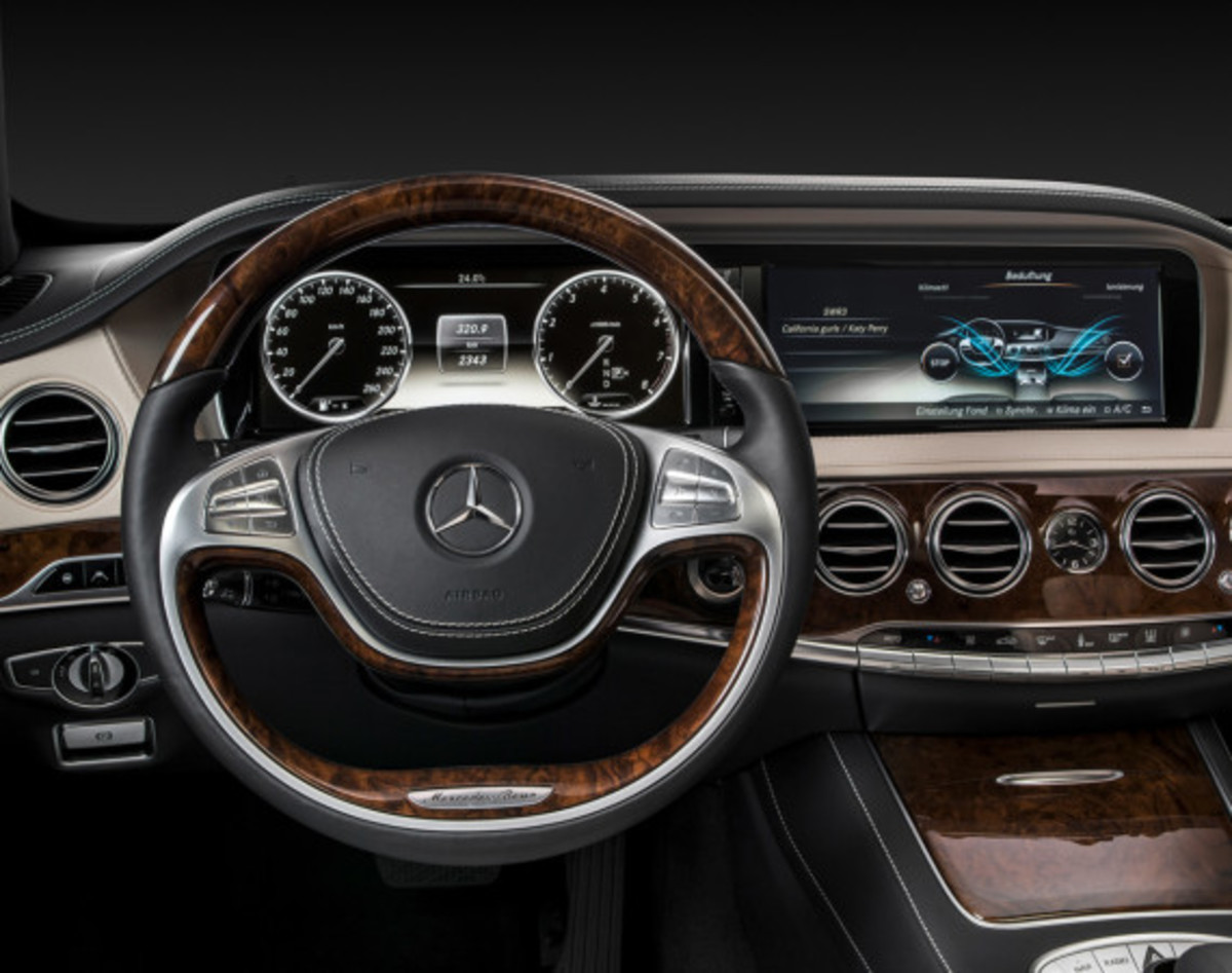 2014 Mercedes-Benz S-Class - New Flagship Model To Redefine Luxury - 21