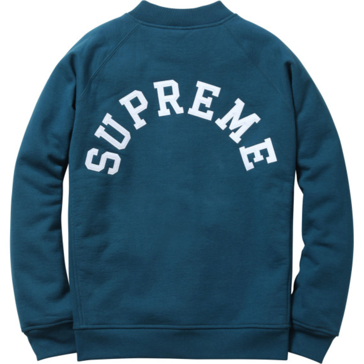 Supreme - Snap Front Arc Logo Sweatshirt | Available Now - 8