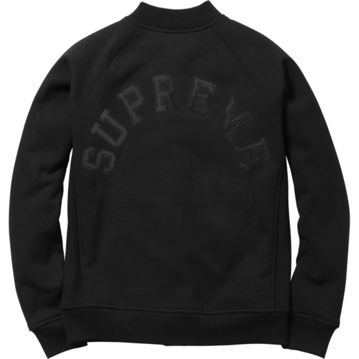 Supreme - Snap Front Arc Logo Sweatshirt | Available Now - 10