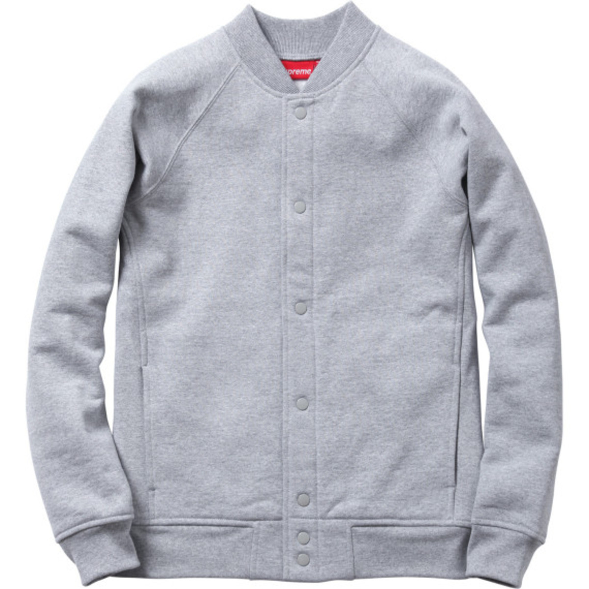 Supreme - Snap Front Arc Logo Sweatshirt | Available Now - 1