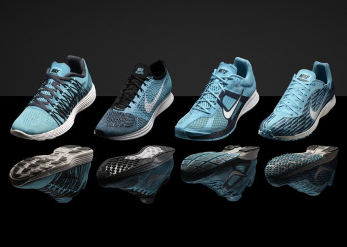 """Nike """"Gamma Blue"""" & """"Pink Foil"""" Collections for Track & Field Championships in Moscow - 3"""