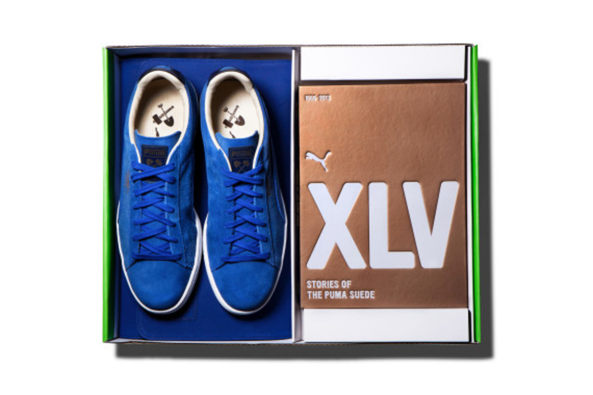 """XLV Stories of The Puma Suede"" Book - 8"