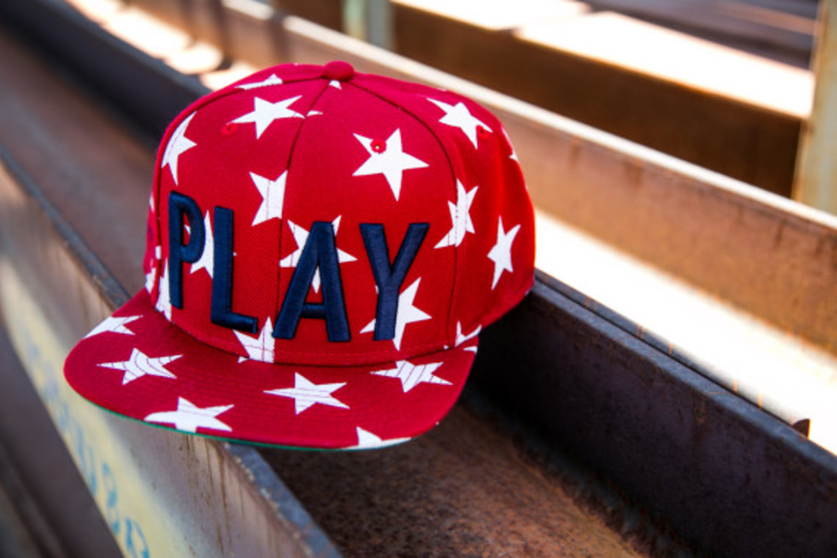 """Play Cloths - """"Past Time"""" Snapback Caps - 1"""