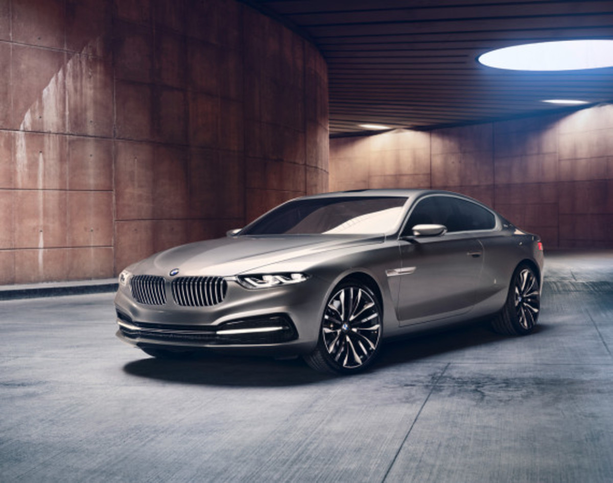 BMW Pininfarina Gran Lusso Coupé - Officially Unveiled - 1