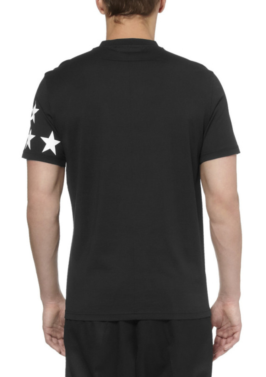 GIVENCHY - Printed Cotton Jersey T-Shirt - 5