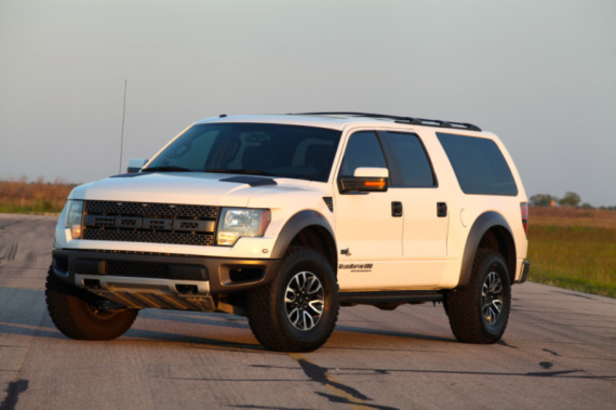 2013 Ford VelociRaptor SUV | Tuned by Hennessey Performance - 21