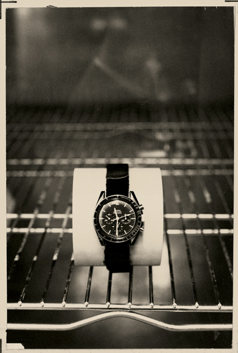 NASA Archive Photo - Original Omega Speedmaster Professional Moonwatch