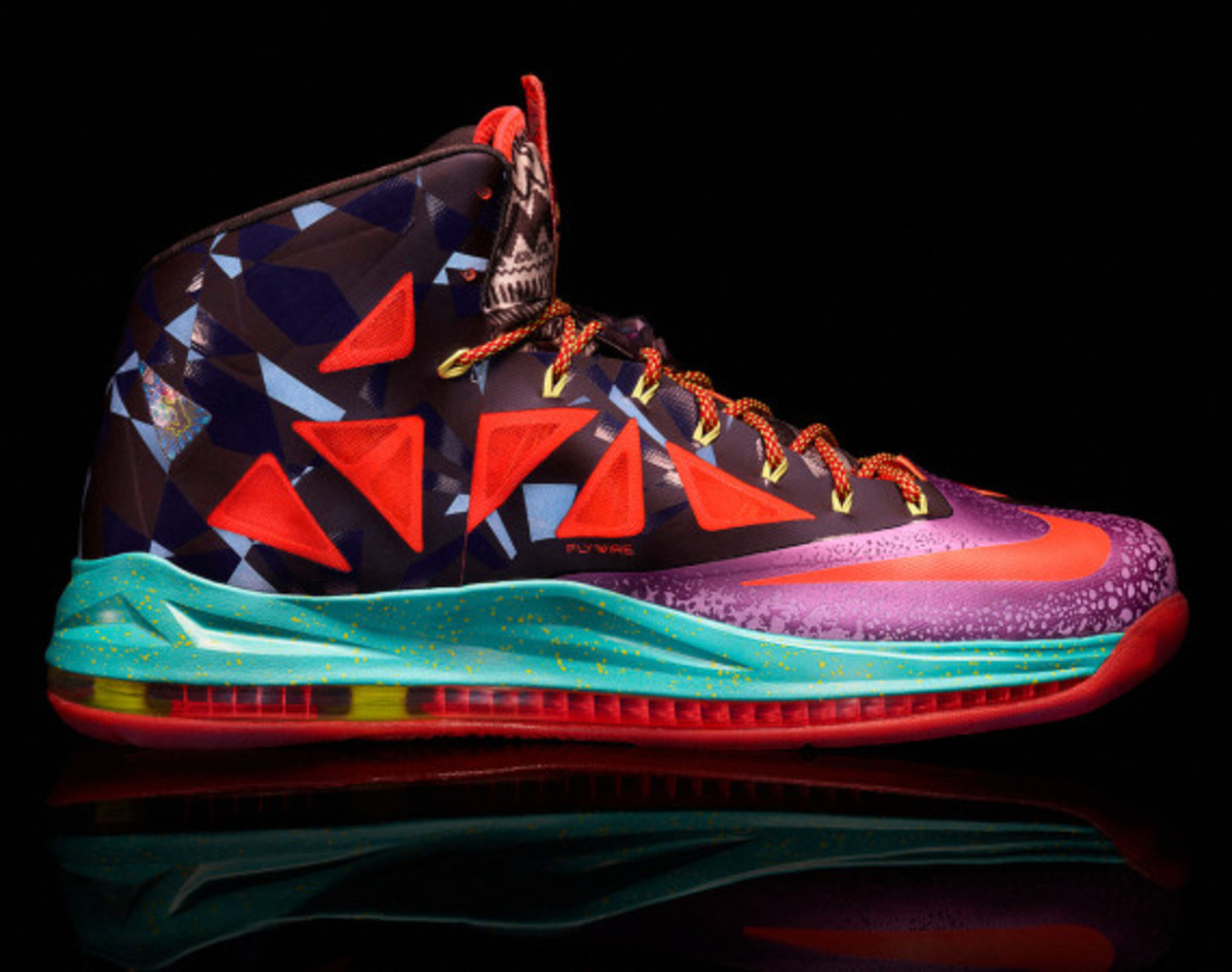 "Nike LeBron X ""MVP"" – Celebrating LeBron James' 4th NBA Most Valuable Player Award - 14"
