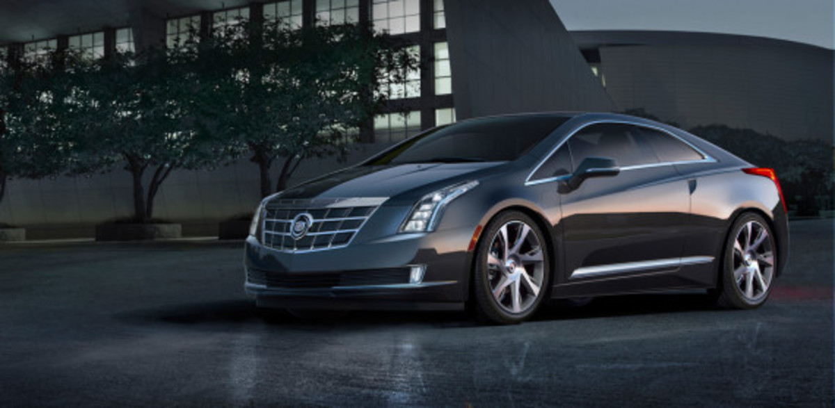 "2014 Cadillac ELR - Saks Fifth Avenue ""White Diamond"" Special Edition - 4"