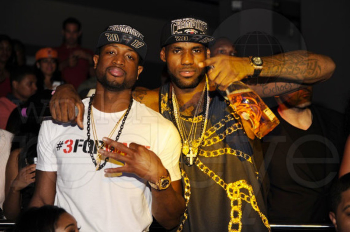 Miami Heat - 2013 NBA Championship After Party at STORY | Event Recap - 12