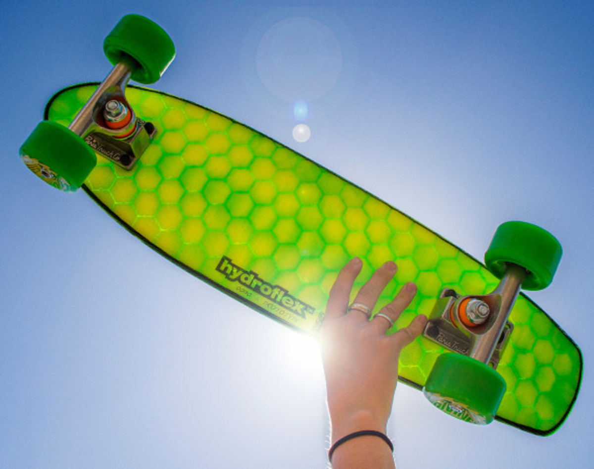 Hydroflex Skateboard - Hi-Tech Composite Skateboards - 2
