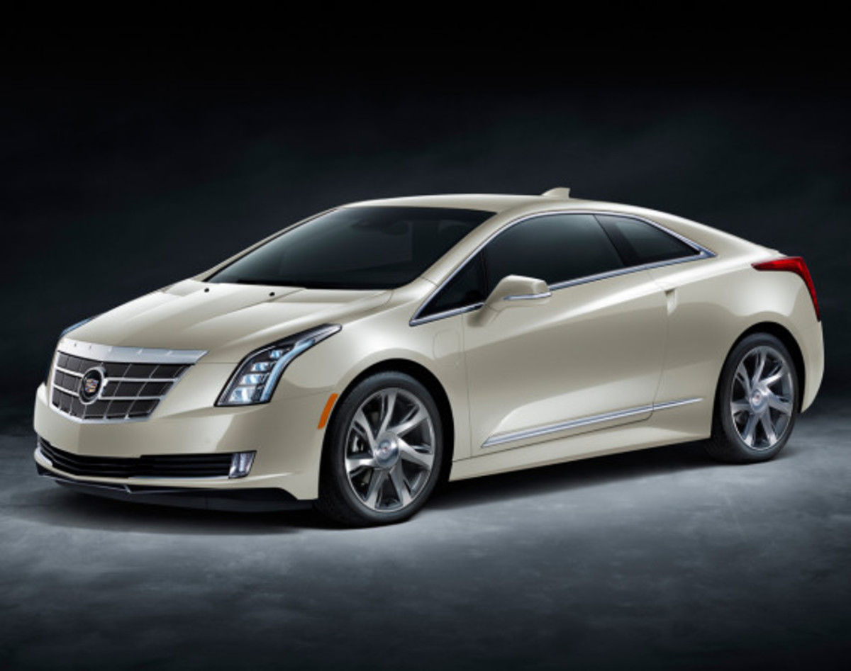 "2014 Cadillac ELR - Saks Fifth Avenue ""White Diamond"" Special Edition - 1"