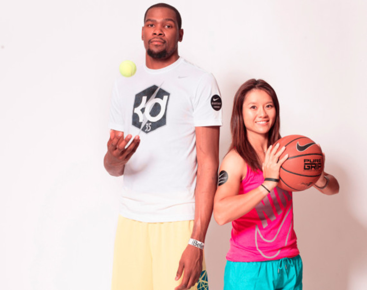 Nike Summer Nights Shanghai - Opening Ceremony with Kevin Durant and Li Na - 1