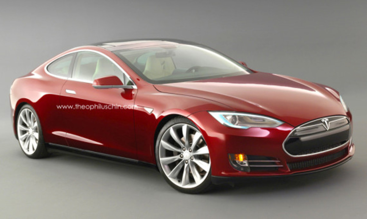 Tesla Model S Coupe Concept | By Theophilus Chin - 0