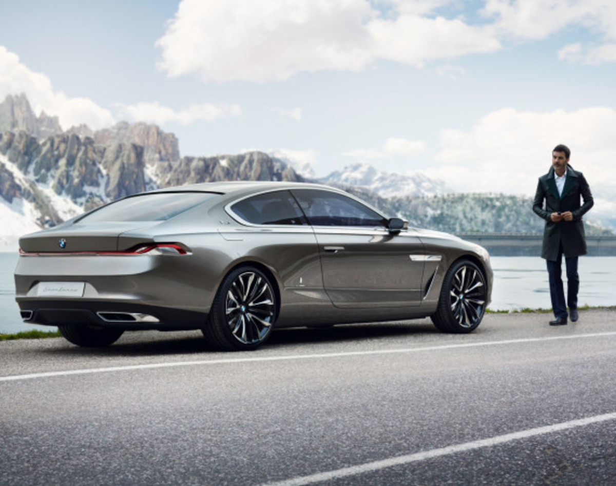BMW Pininfarina Gran Lusso Coupé - Officially Unveiled - 30