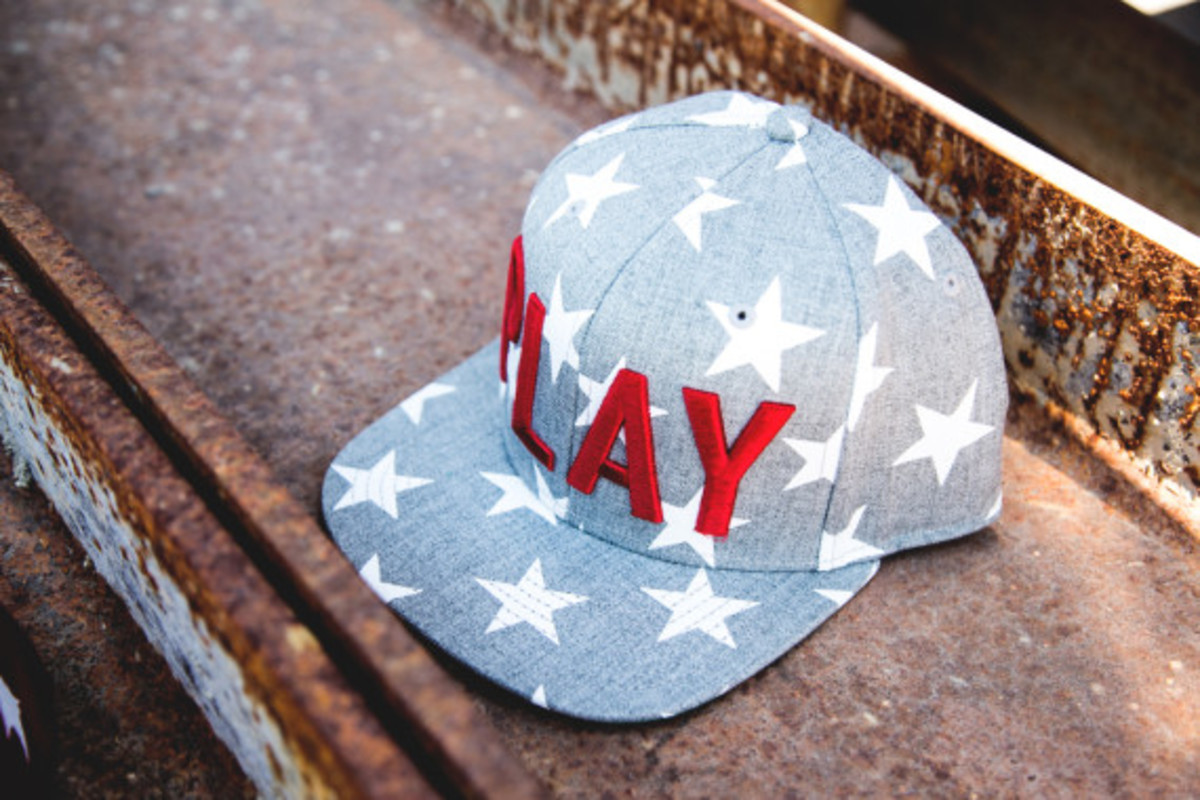 """Play Cloths - """"Past Time"""" Snapback Caps - 2"""