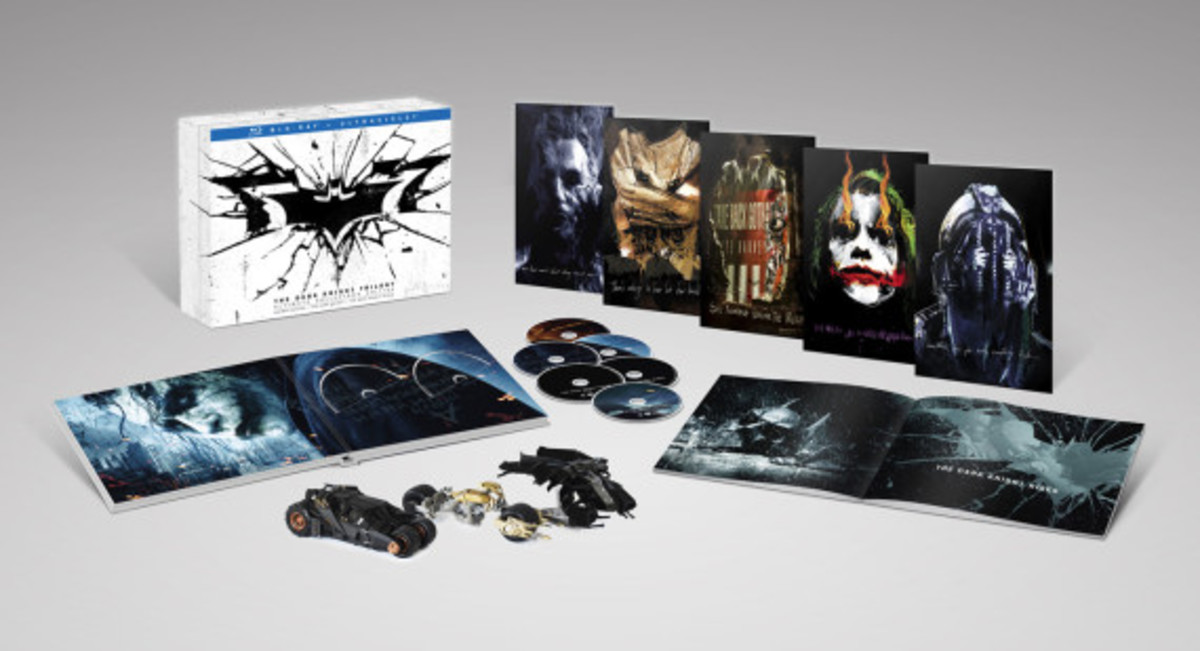 The Dark Knight Trilogy: Ultimate Collector's Edition Blu-Ray Pack - 0