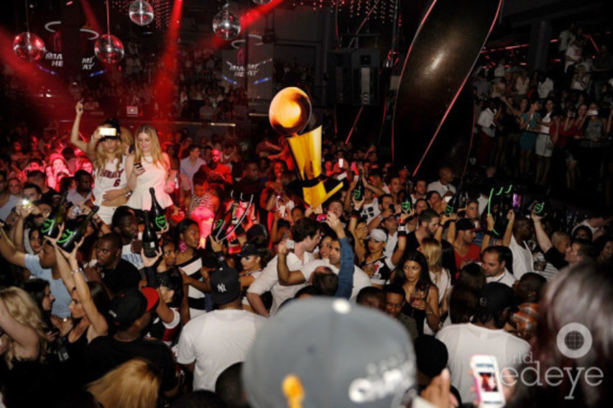 Miami Heat - 2013 NBA Championship After Party at STORY | Event Recap - 6