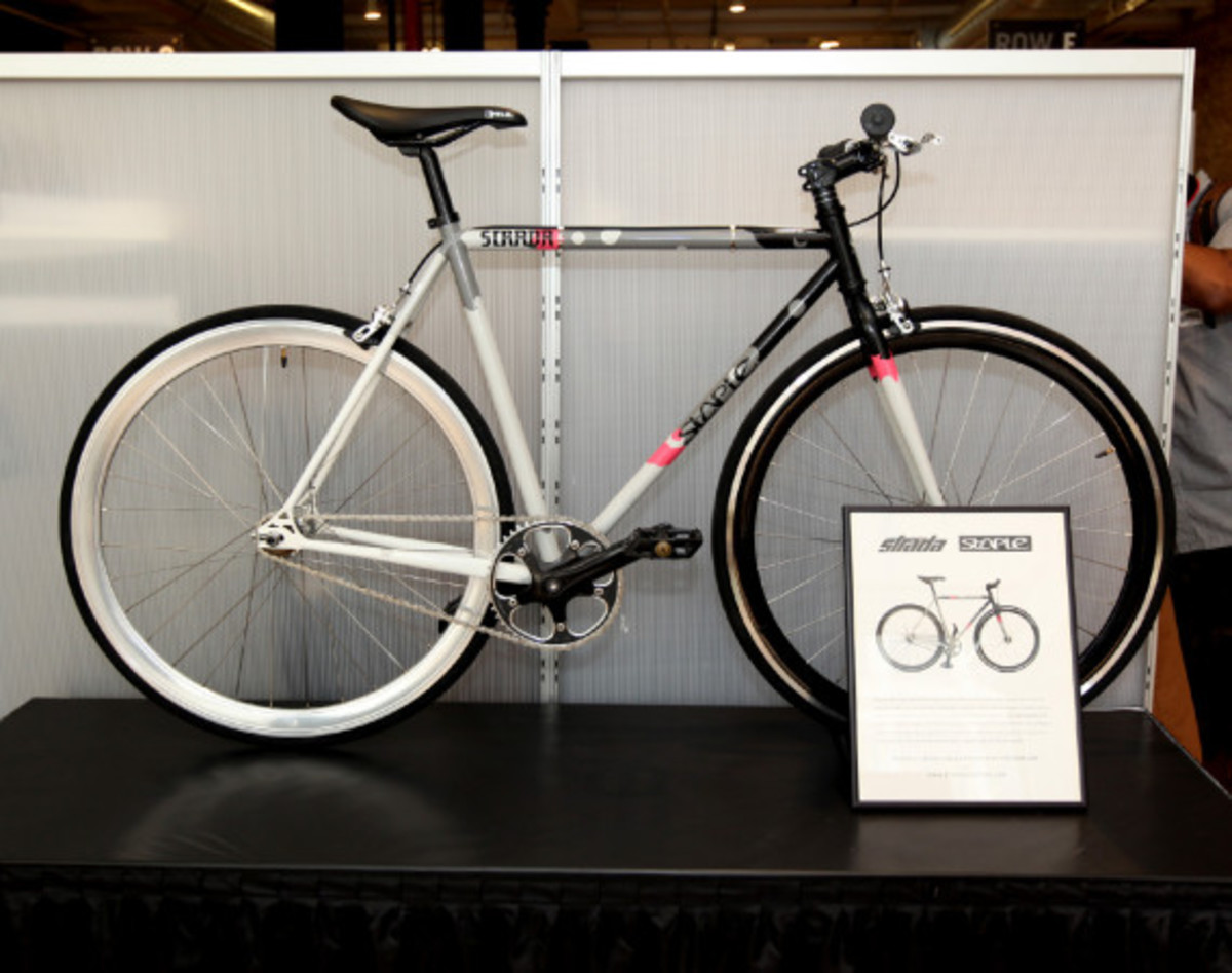 AGENDA Show NYC: STRADA Customs x Staple - Trackster Bicycle - 0
