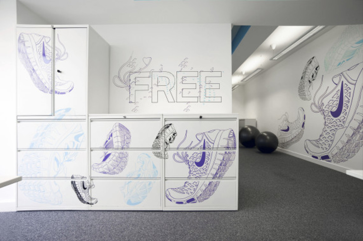 Nike UK Headquarters - Newly Redesigned By Rosie Lee - 42