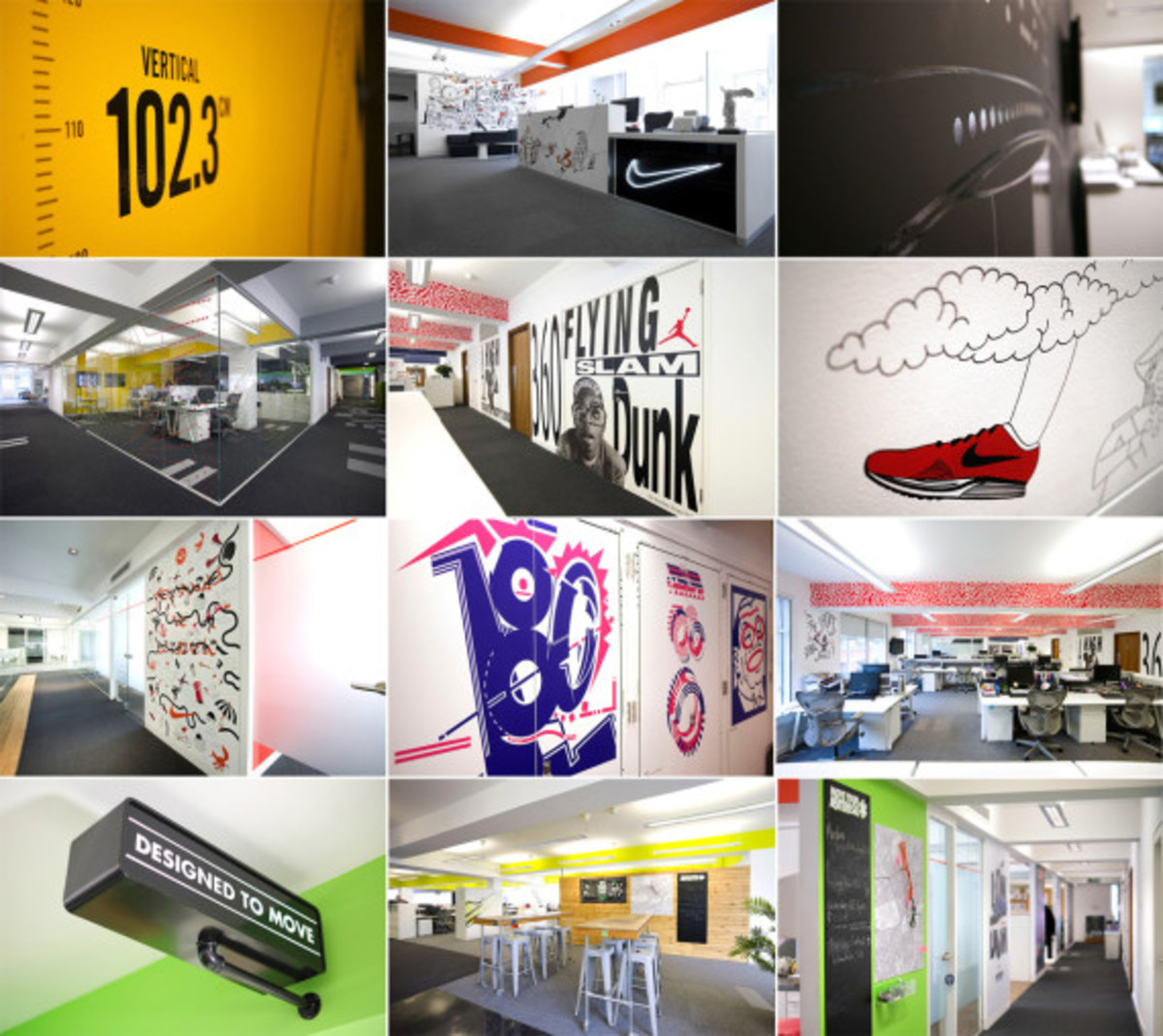 Nike UK Headquarters - Newly Redesigned By Rosie Lee - 0