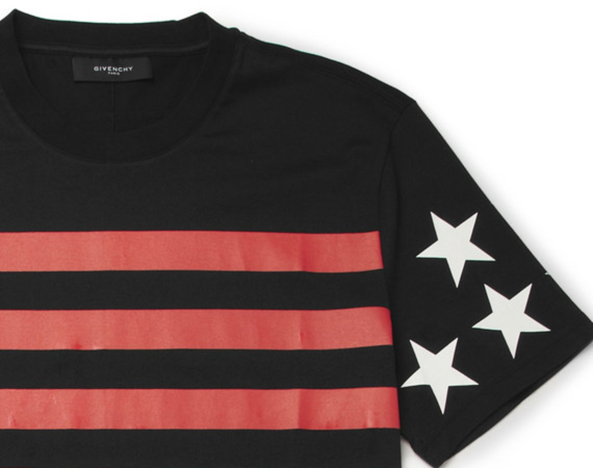 GIVENCHY - Printed Cotton Jersey T-Shirt - 0