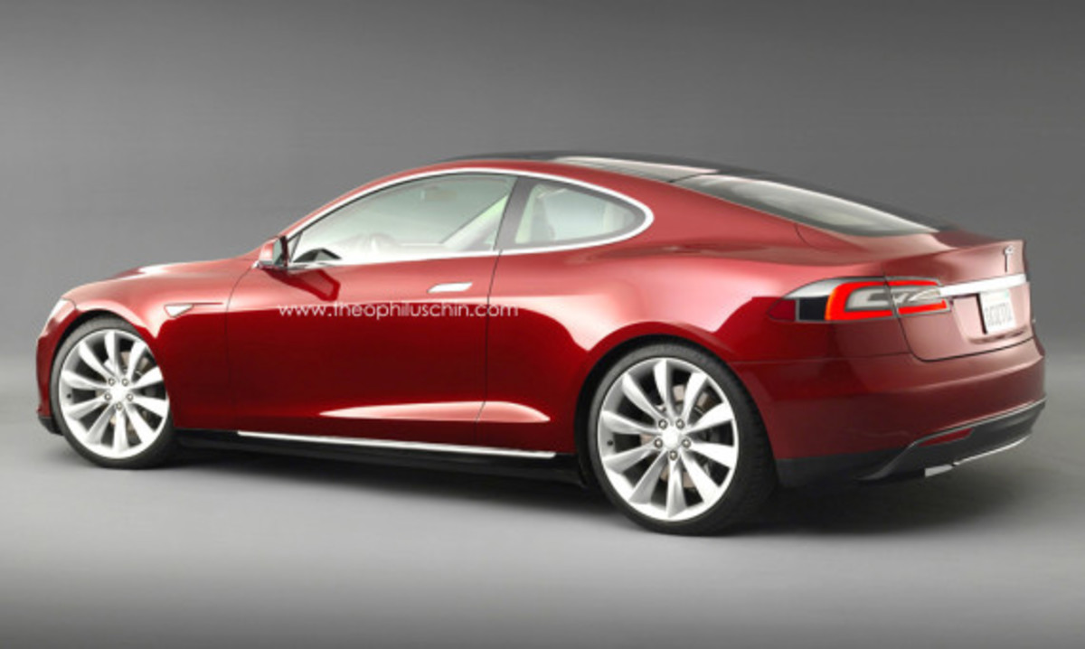 Tesla Model S Coupe Concept | By Theophilus Chin - 1