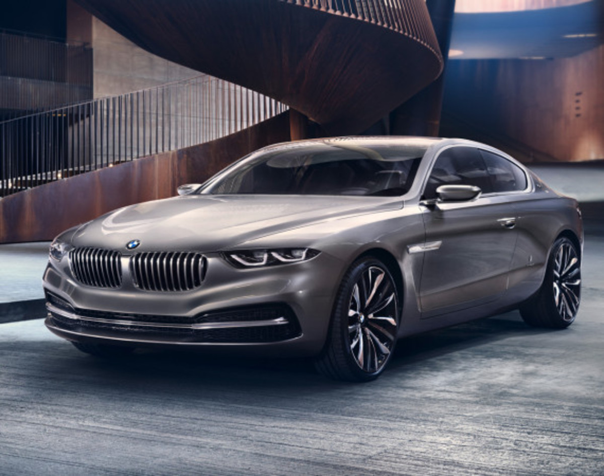 BMW Pininfarina Gran Lusso Coupé - Officially Unveiled - 12