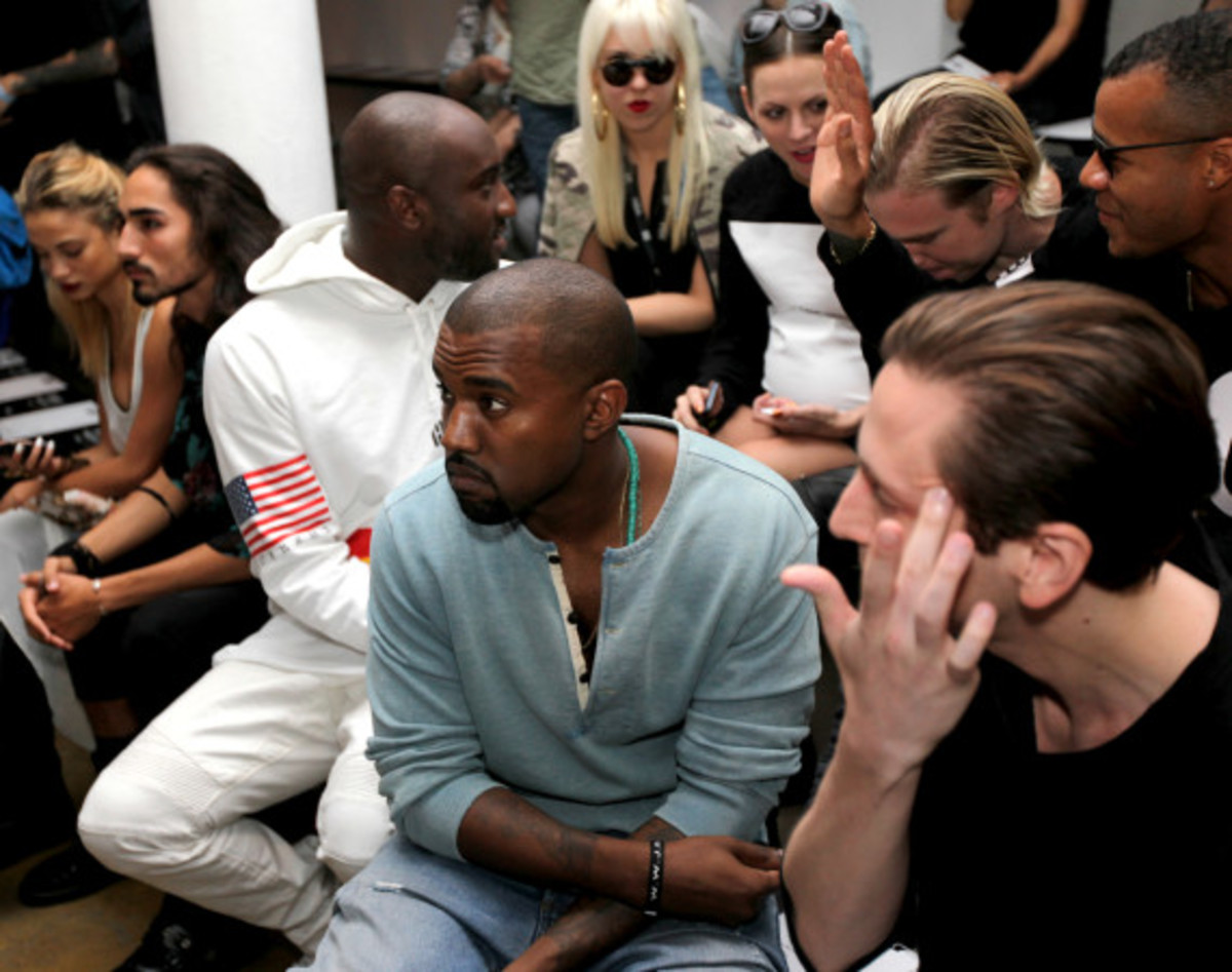 Fresh Celeb: Kanye West Front Row at HOOD BY AIR Runway Show - 4