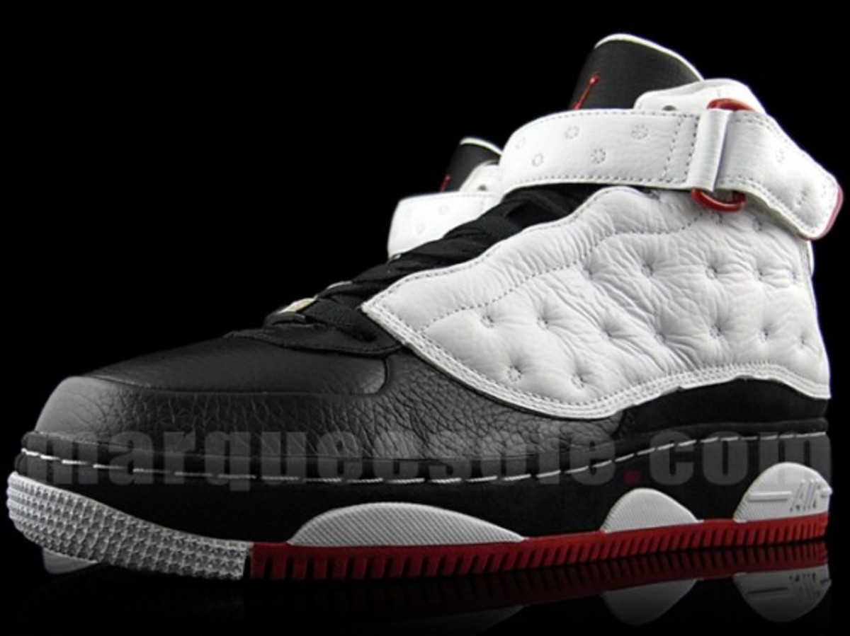 quality design 6c27f 9518f Air Jordan Force Fusion XIII (AJF13) - White Black-Varsity Red