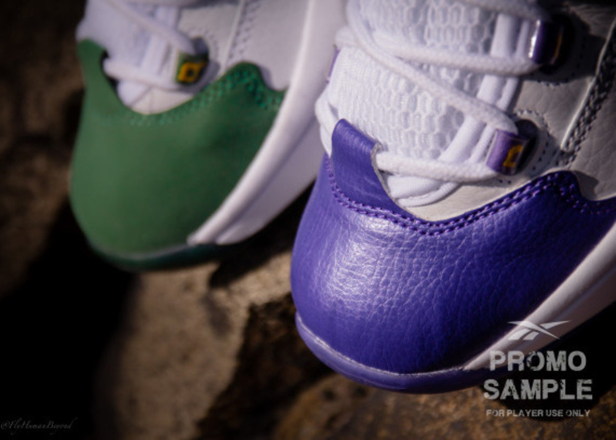 "Packer Shoes x Reebok Question - ""For Player Use Only"" Pack 