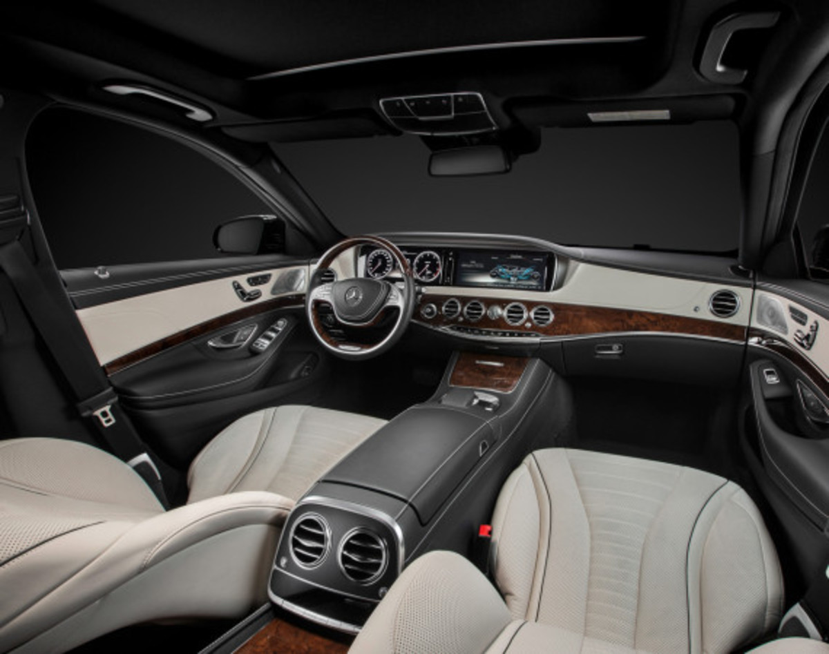 2014 Mercedes-Benz S-Class - New Flagship Model To Redefine Luxury - 16