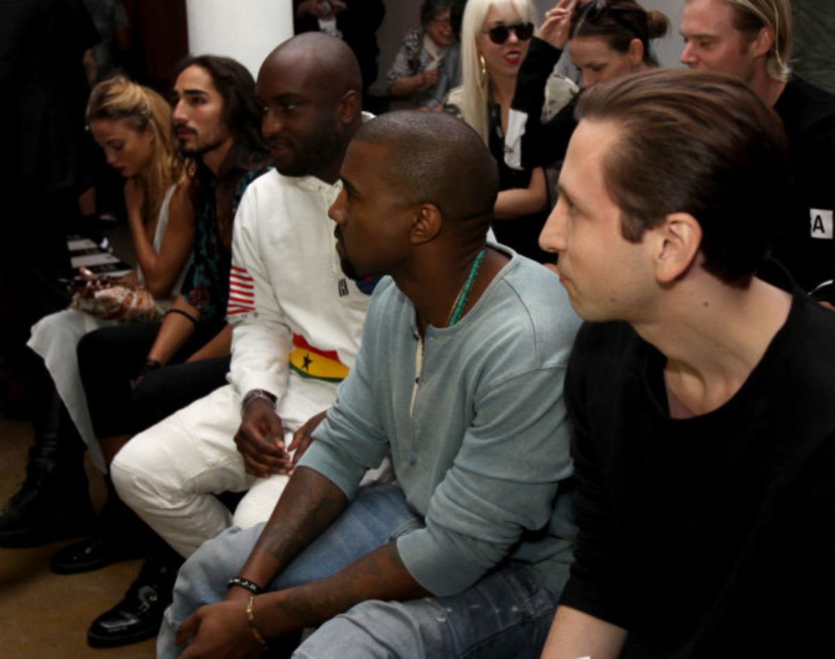 Fresh Celeb: Kanye West Front Row at HOOD BY AIR Runway Show - 6
