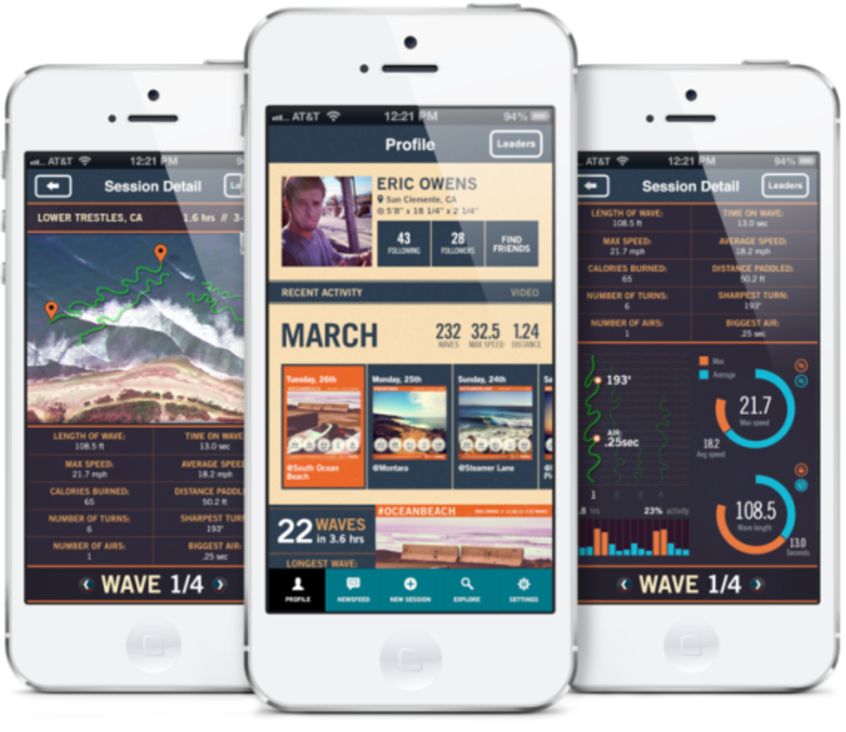 TRACE - Advanced Activity Monitor for Action Sports | By ActiveReplay - 3