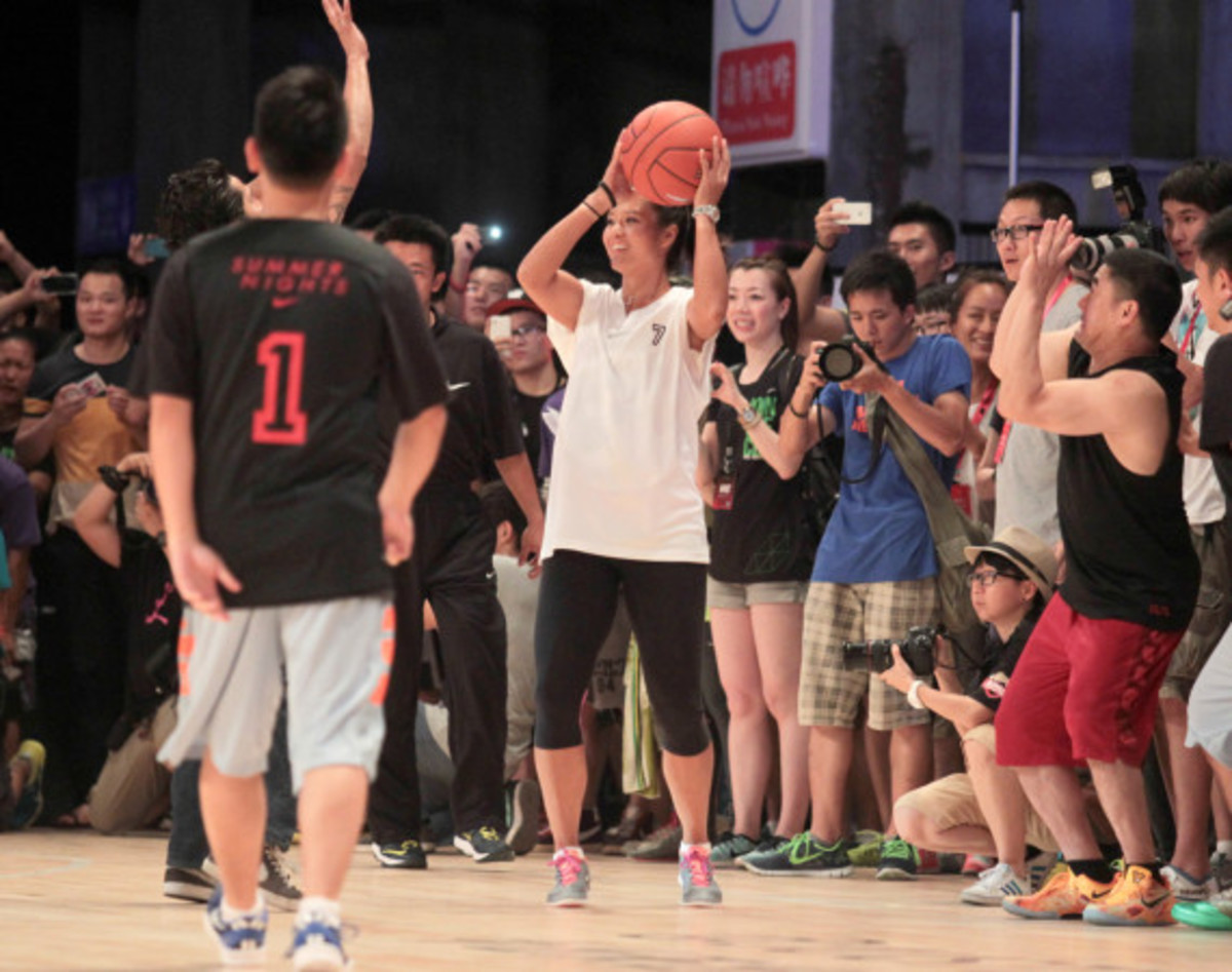 Nike Summer Nights Shanghai - Opening Ceremony with Kevin Durant and Li Na - 7