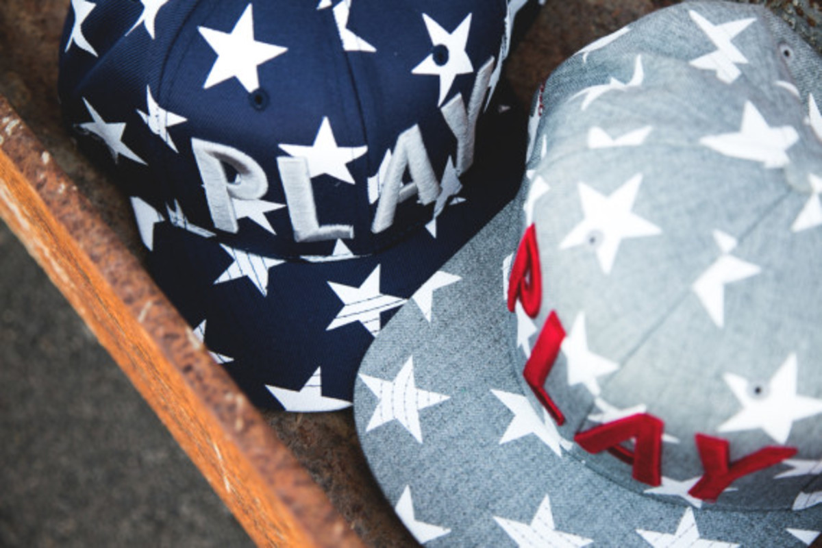 """Play Cloths - """"Past Time"""" Snapback Caps - 7"""
