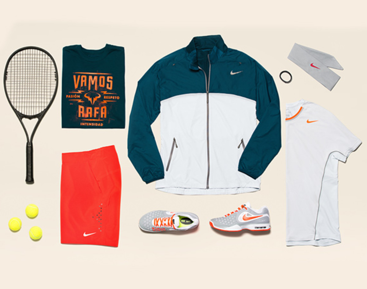 Rafael Nadal Nike 2013 French Open Collection - 0