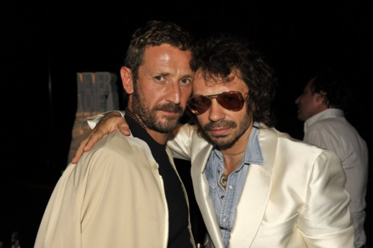 Nike x LIVESTRONG - STAGES Art Exhibition Opening Event - Stefano Pilati & Olivier Zahm