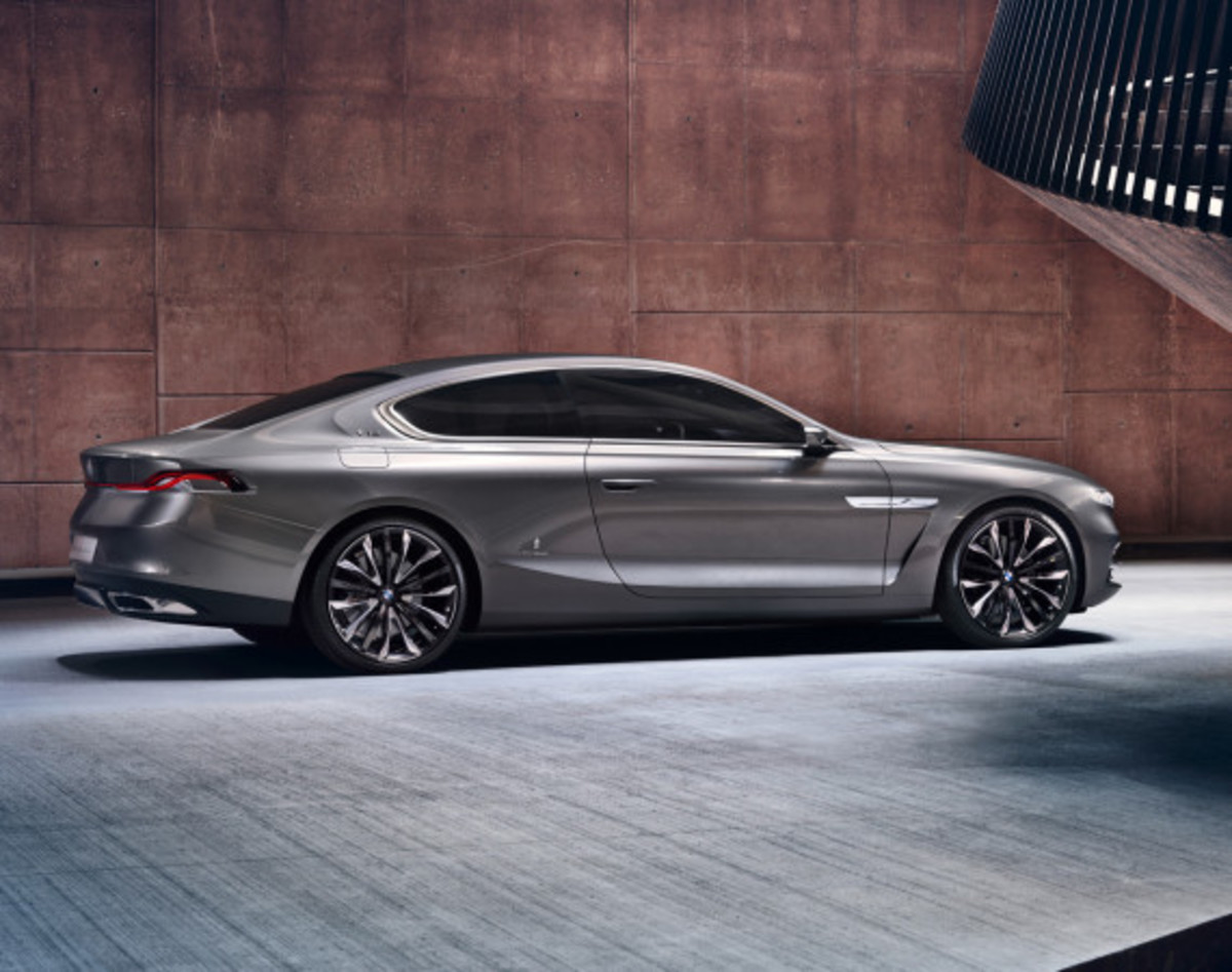 BMW Pininfarina Gran Lusso Coupé - Officially Unveiled - 4