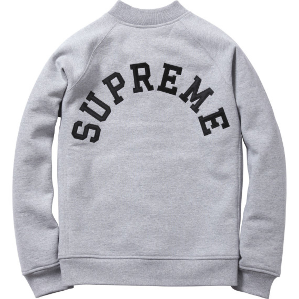 Supreme - Snap Front Arc Logo Sweatshirt | Available Now - 2