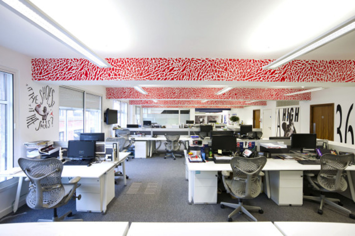 Nike UK Headquarters - Newly Redesigned By Rosie Lee - 11