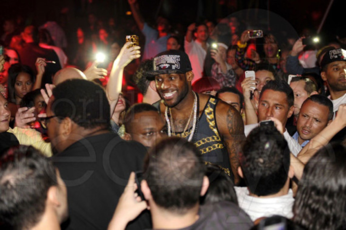 Miami Heat - 2013 NBA Championship After Party at STORY | Event Recap - 3