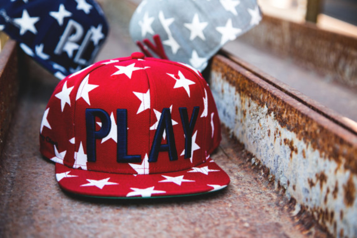 """Play Cloths - """"Past Time"""" Snapback Caps - 6"""
