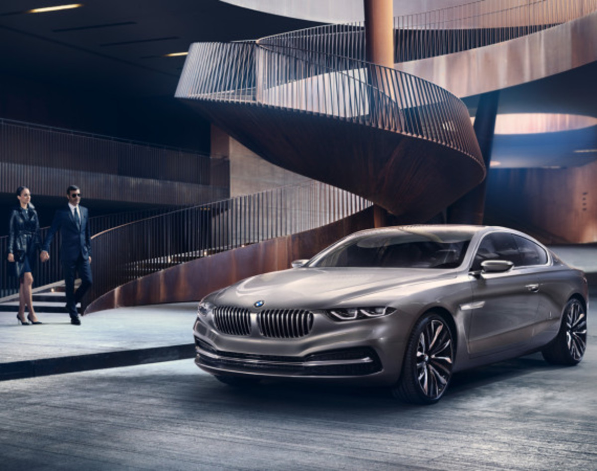 BMW Pininfarina Gran Lusso Coupé - Officially Unveiled - 13