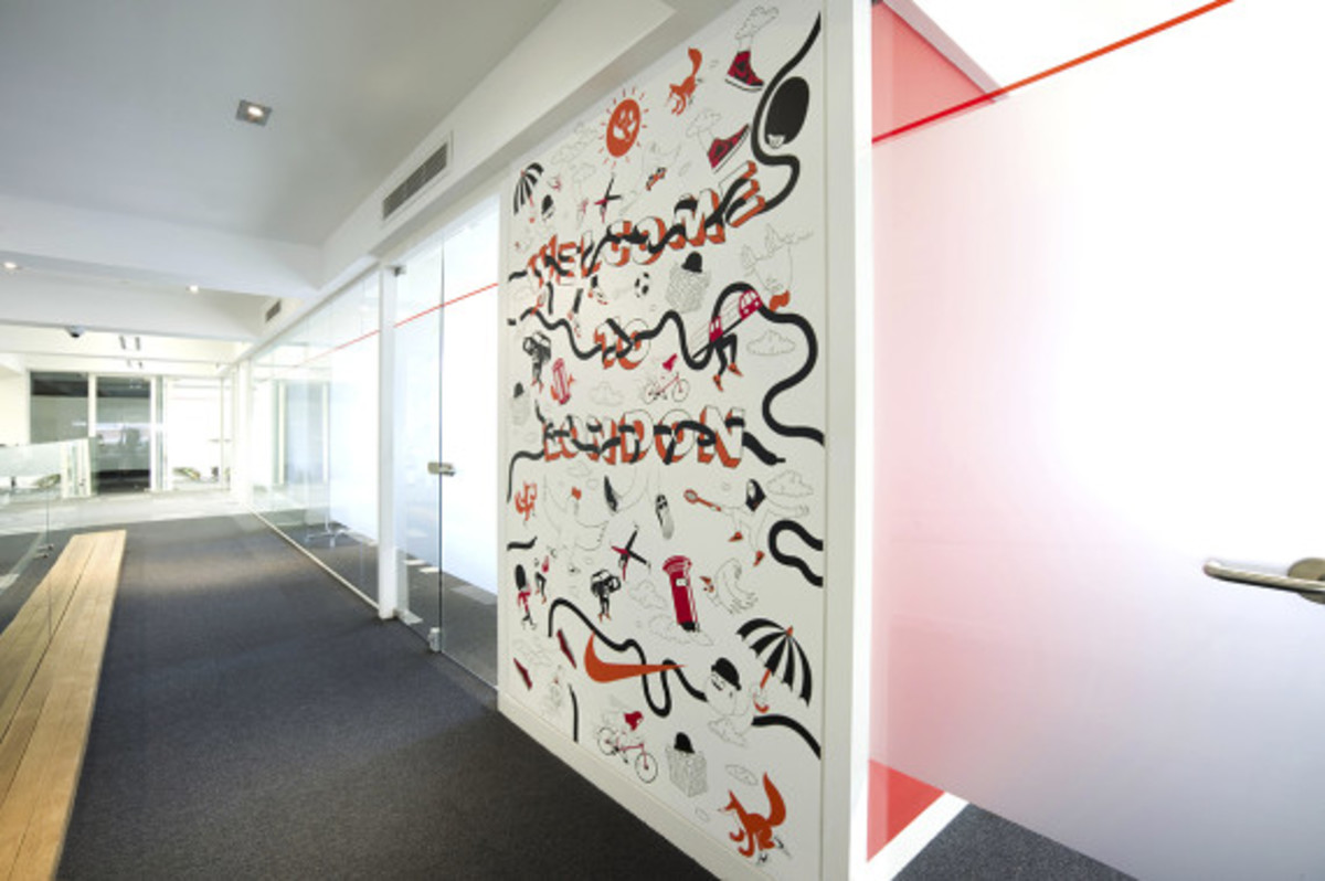 Nike UK Headquarters - Newly Redesigned By Rosie Lee - 27