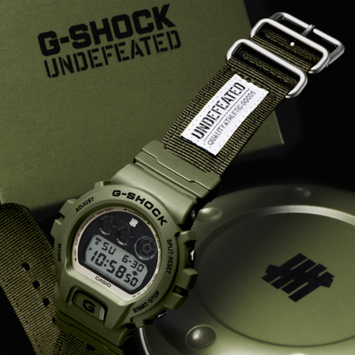 UNDFTD x Casio G-Shock 30th Anniversary DW-6901UD-3 Watch | Available Now - 0